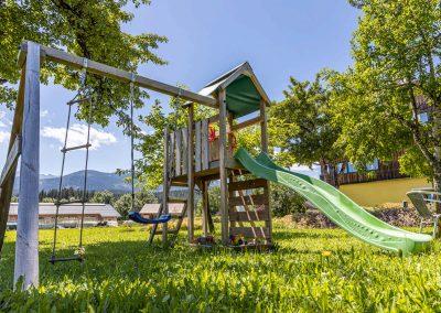 Kinderspielplatz der Ferienwohnungen Neuper Obersdorf