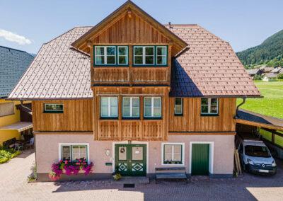 Ferienwohnung in Obersdorf - Hausansicht frontal